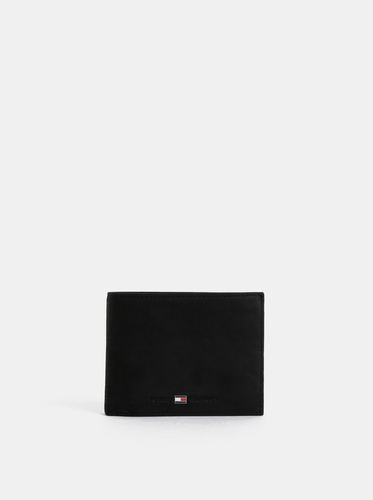 Černá pánská kožená peněženka Tommy Hilfiger Johnson