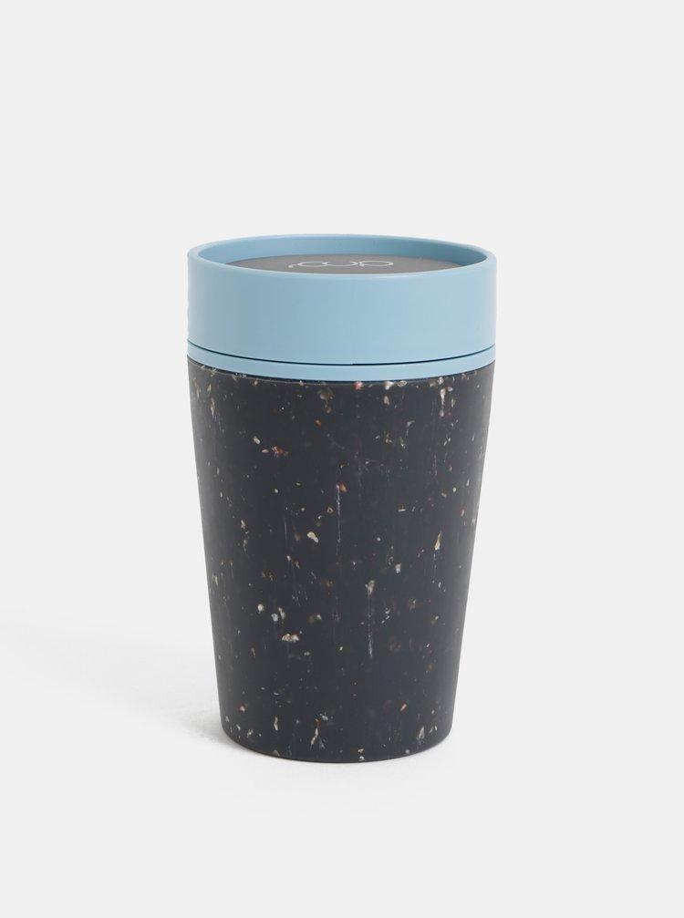 Modro-černý cestovní hrnek rCUP 227 ml
