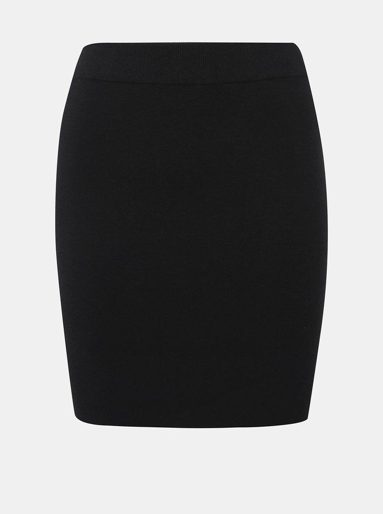 Černá svetrová sukně Noisy May Ship