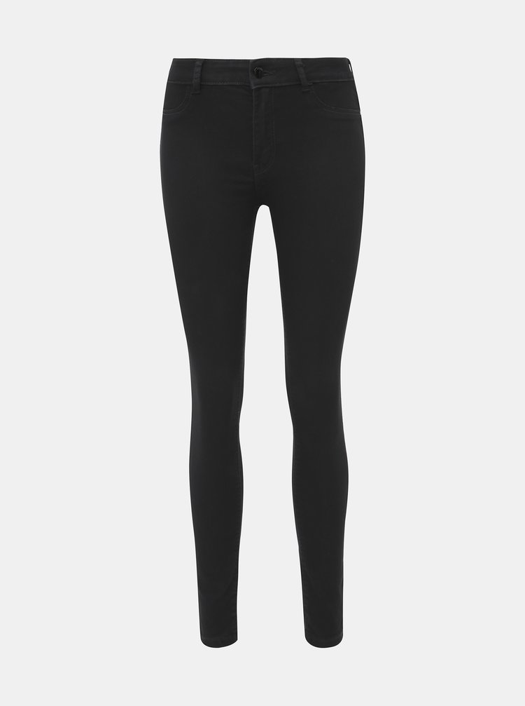 Černé skinny fit džíny Jacqueline de Yong Nikky