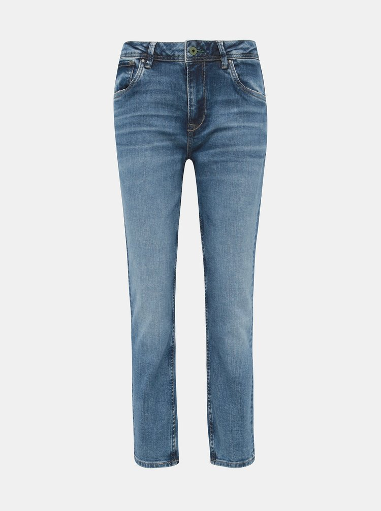 Modré dámske mom rifle Pepe Jeans Violet