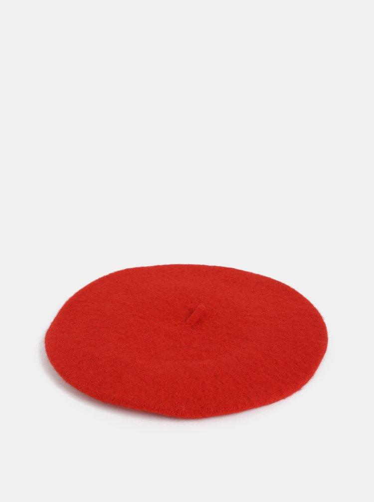 Červená baretka Haily´s Franny