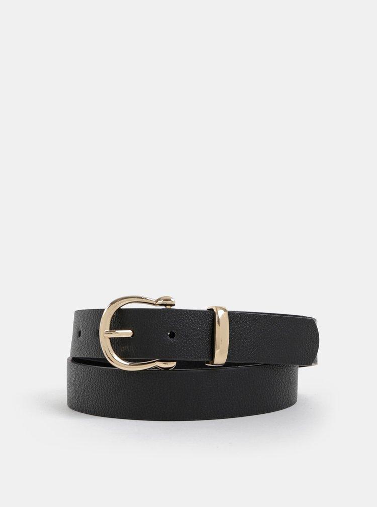 Čierny dámsky kožený opasok Haily´s Ayla