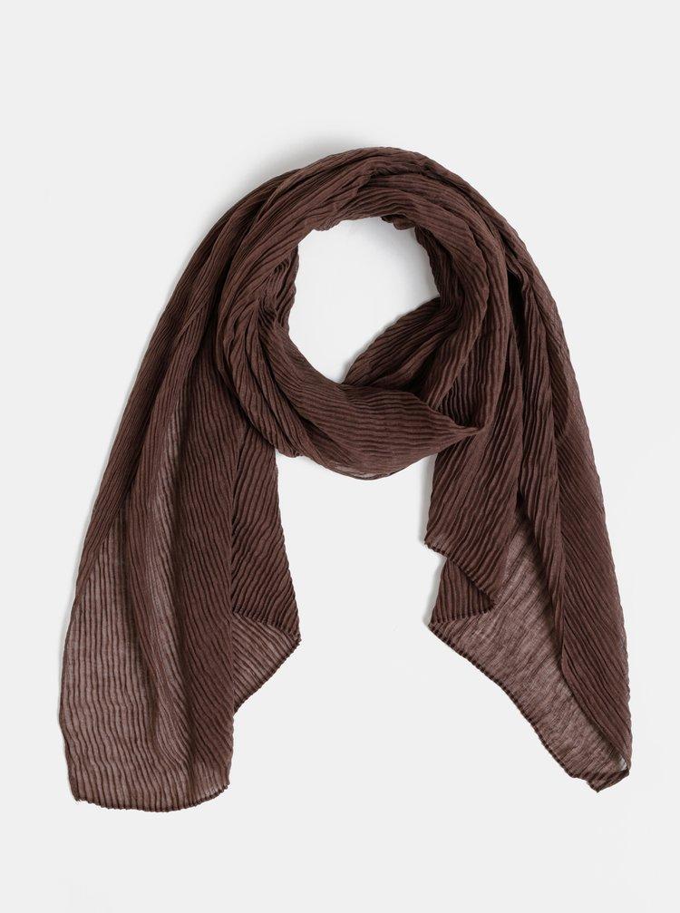 Hnědý dámský šátek Haily´s Sally