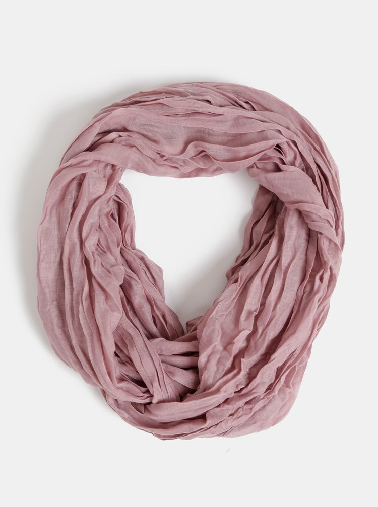Starorůžový dámský šátek Haily´s Uni