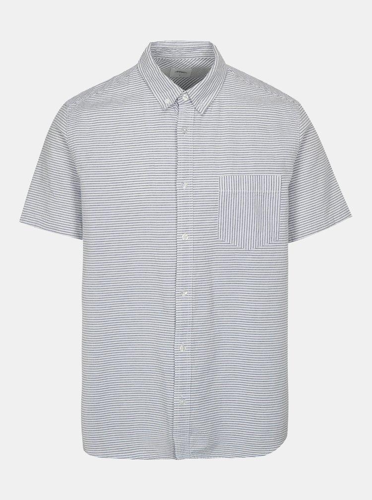Camasa albastru-alb in dungi Burton Menswear London