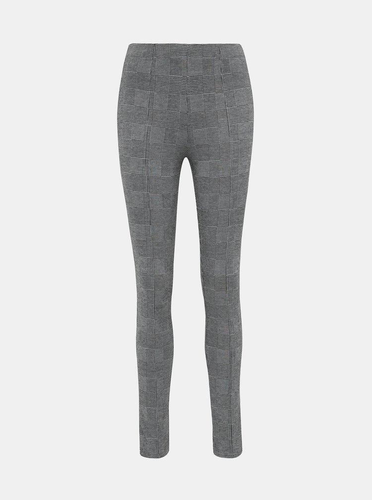 Šedé dámské vzorované kalhoty Haily´s Gloria