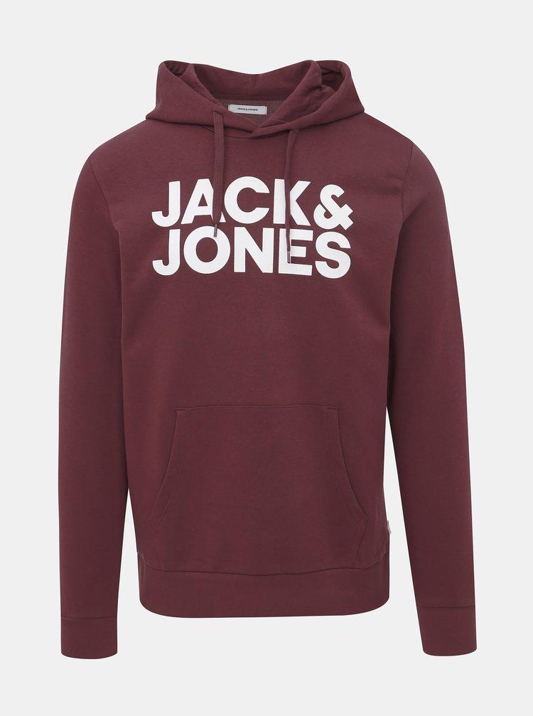 Vínová mikina Jack & Jones Corp