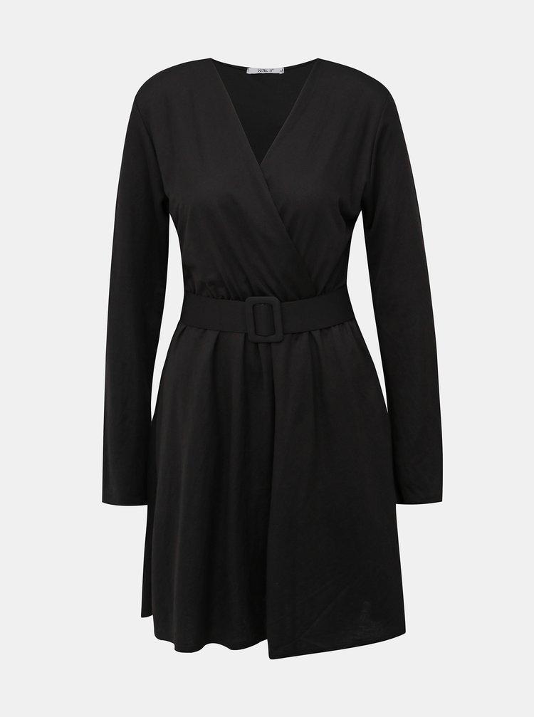 Čierne šaty Haily´s Camille