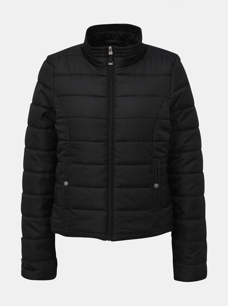 Černá zimní prošívaná bunda VERO MODA Simone