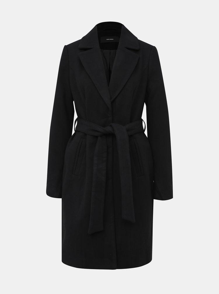 Čierny kabát VERO MODA Calalyon