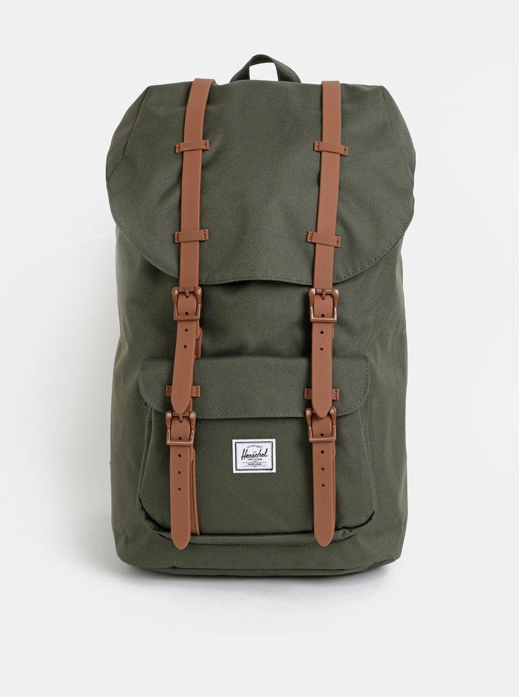 Tmavě zelený batoh Herschel Supply Retreat 25 l