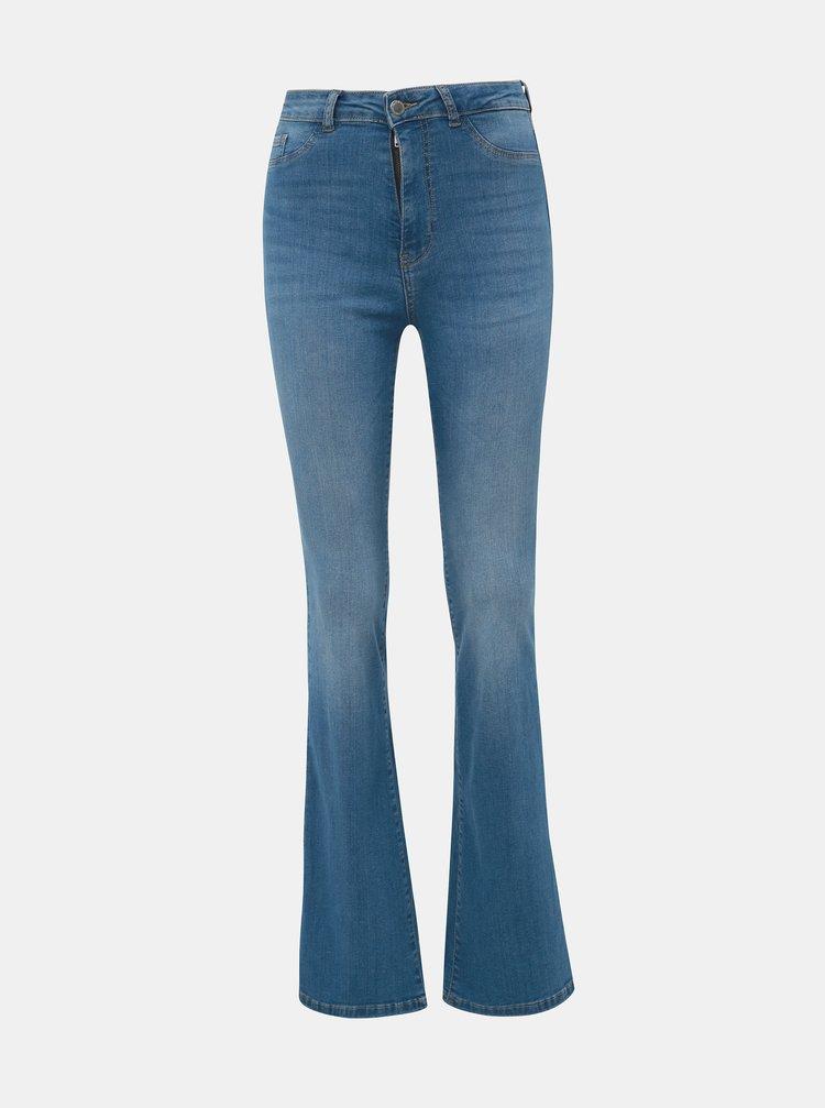 Modré skinny flare fit džíny TALLY WEiJL