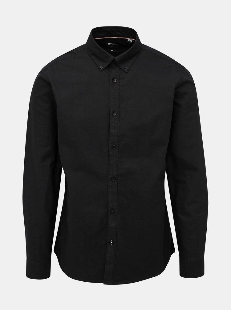 Černá slim fit košile ONLY & SONS Oliver
