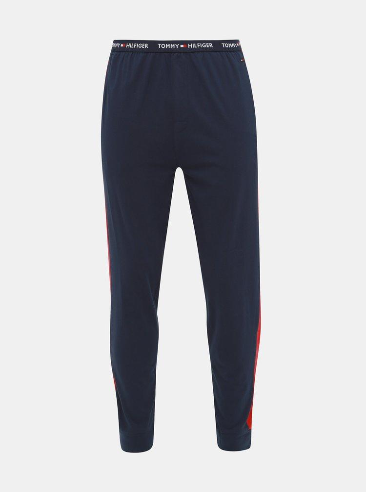 Tmavomodré pánske pyžamové nohavice Tommy Hilfiger