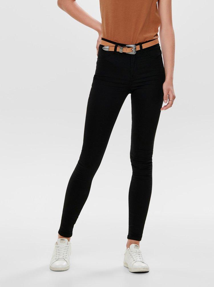 Černé skinny fit džíny Jacqueline de Yong Lara