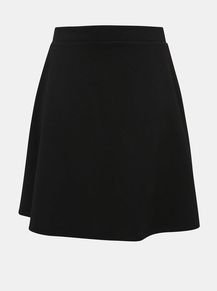 Čierna sukňa ONLY CARMAKOMA Favorite