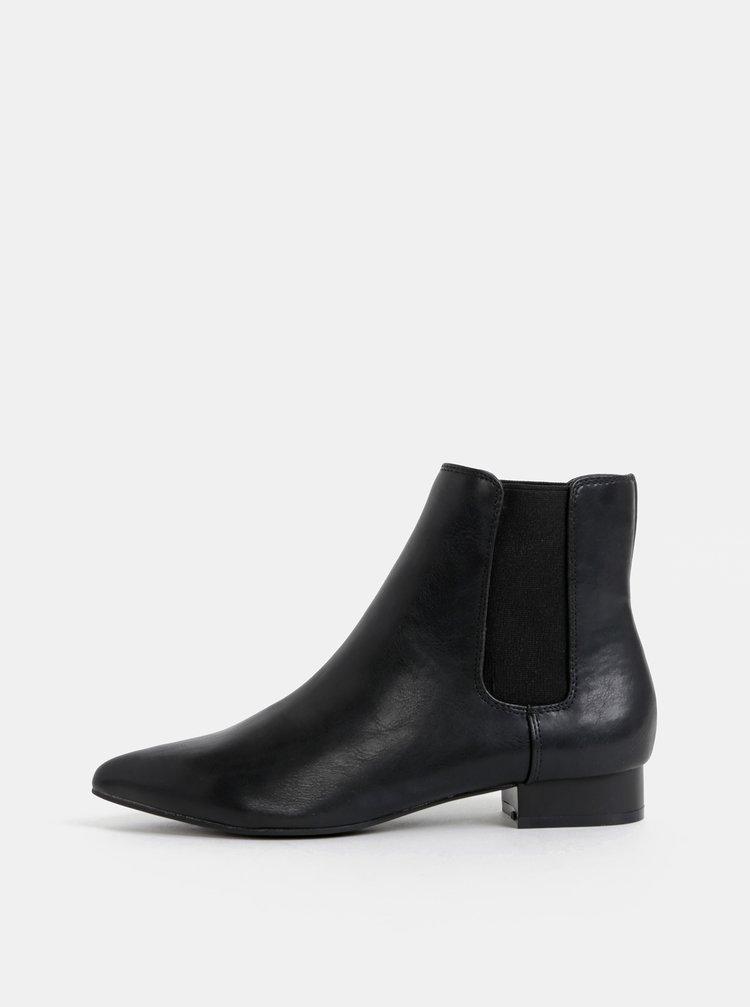 Černé chelsea boty Dorothy Perkins