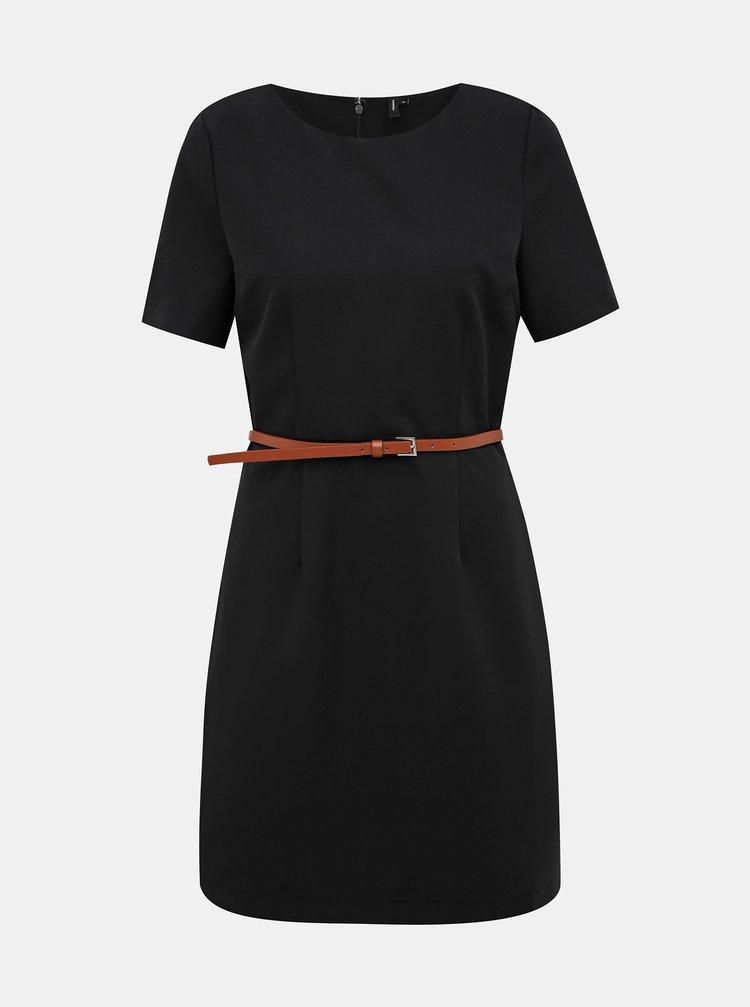 Černé šaty VERO MODA Pekaya