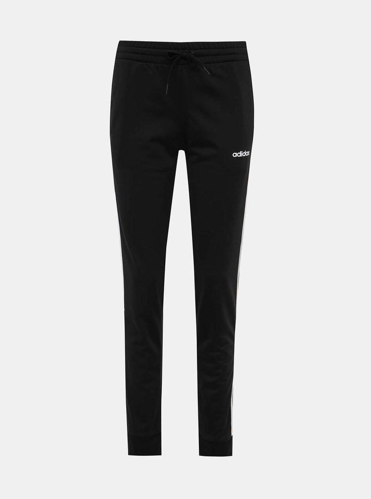 Čierne dámske tepláky adidas CORE
