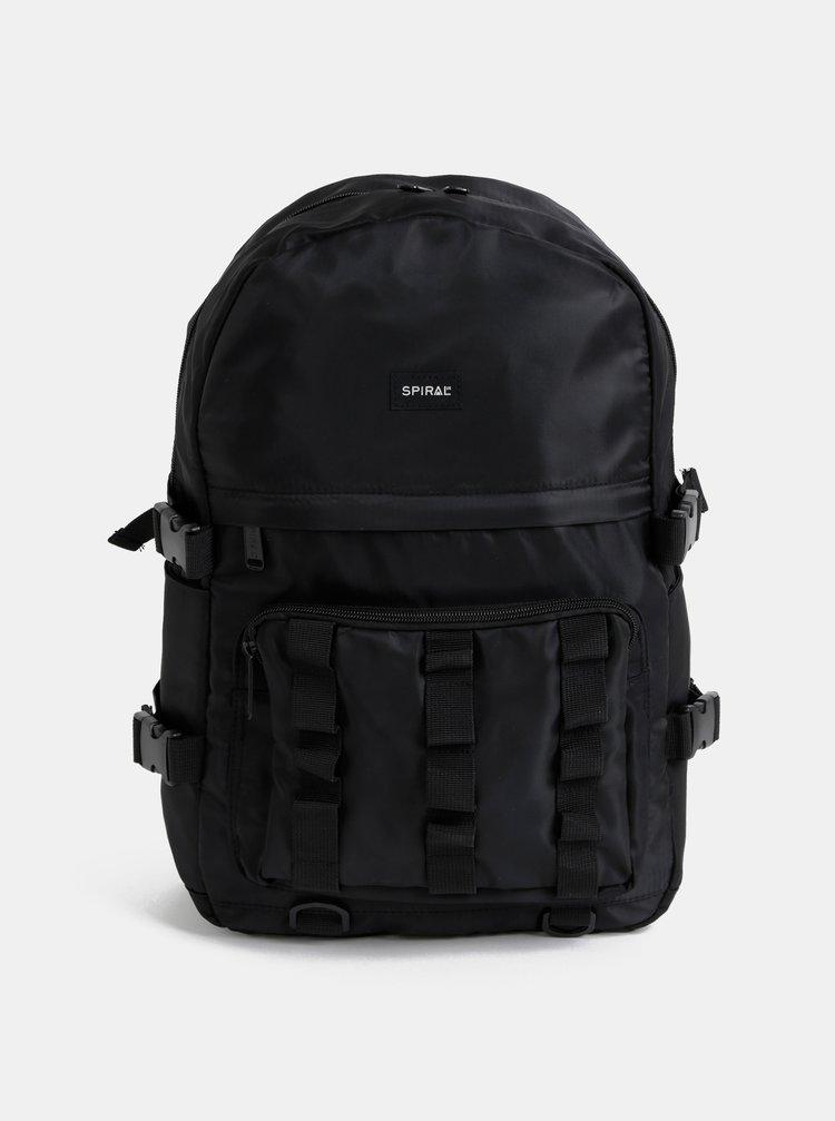 Černý batoh Spiral Military