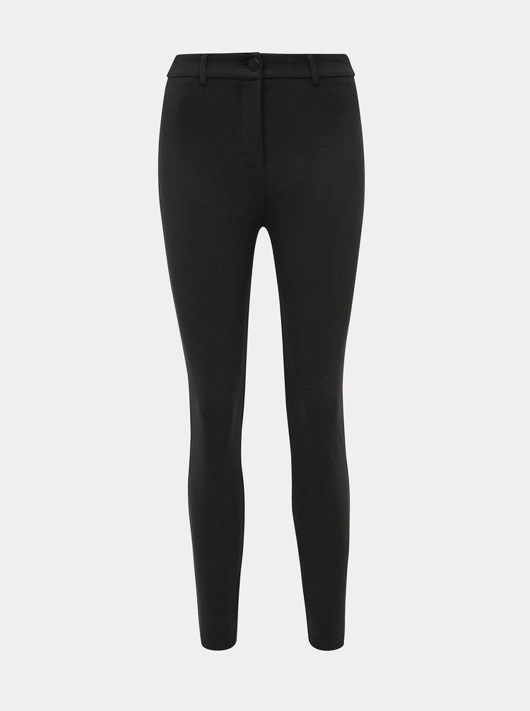 Čierne skinny fit nohavice Dorothy Perkins