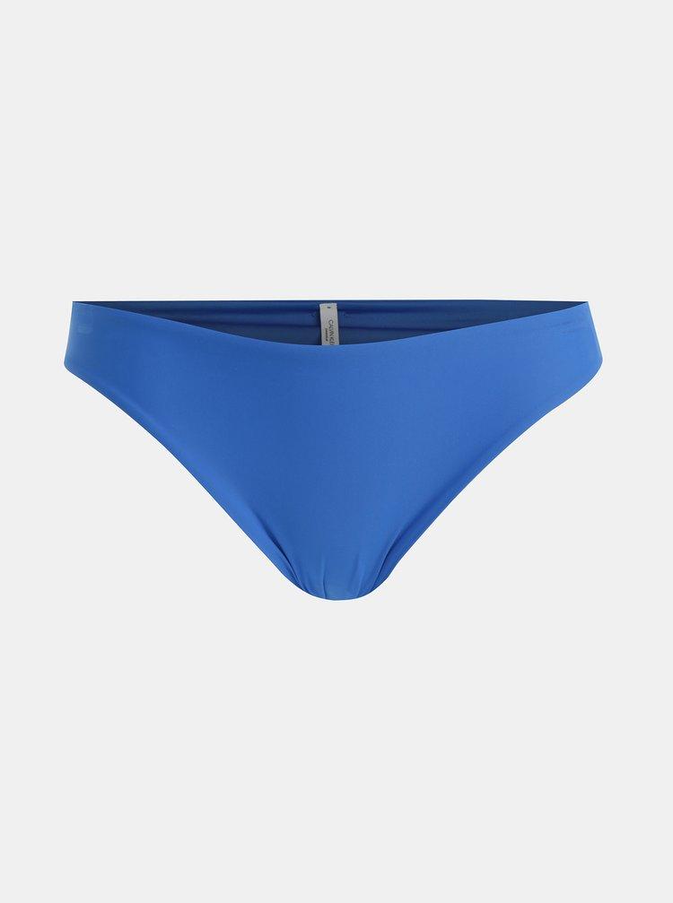 Modrý spodný diel plaviek Calvin Klein Underwear