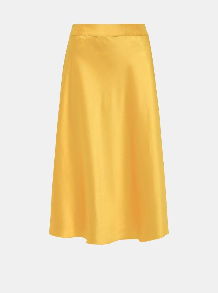 Žlutá sukně VERO MODA Christas
