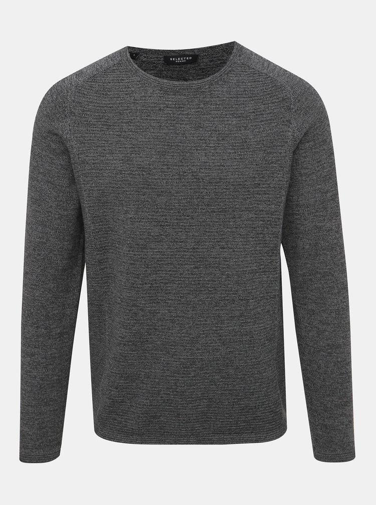 Šedý svetr Selected Homme Bakes