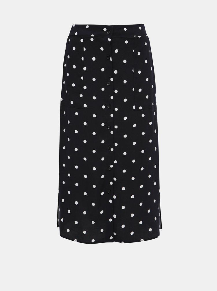 Tmavě modrá puntíkovaná sukně Haily´s Toffy