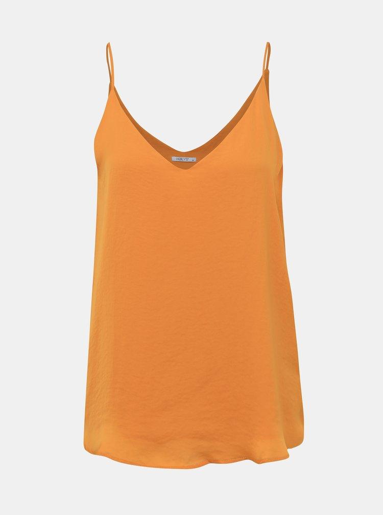Horčicový dámsky top Haily´s Sina
