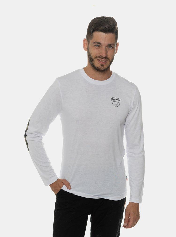 Biele pánske tričko SAM 73