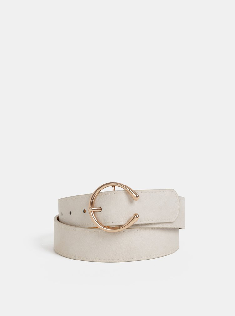 Béžový kožený pásek Haily´s Franzy