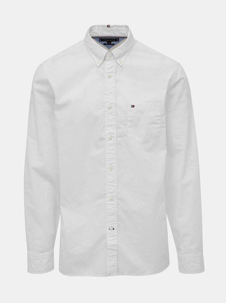 Biela pánska regular fit košeľa Tommy Hilfiger