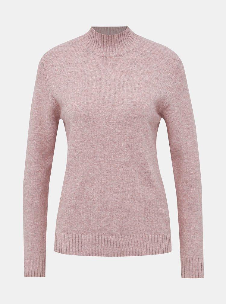 Rúžový sveter VILA Ril