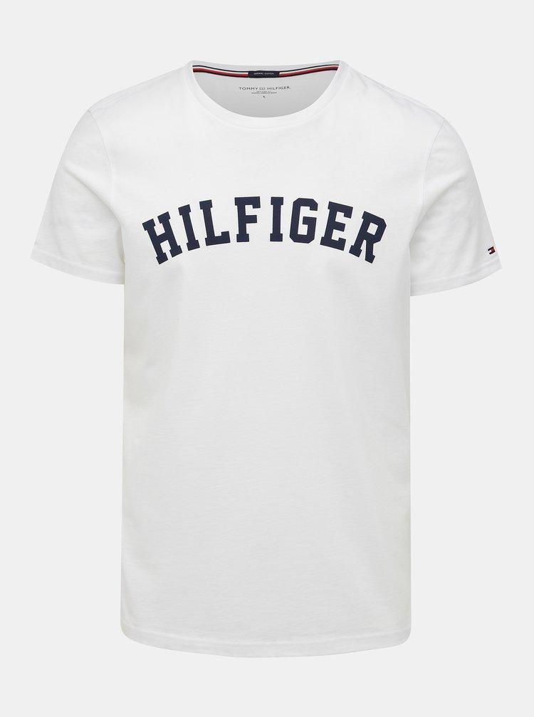 Bílé pánské tričko s potiskem Tommy Hilfiger