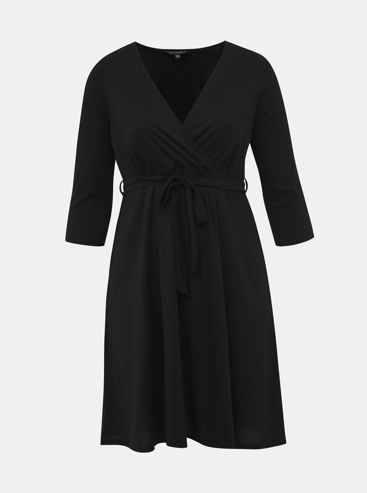 Čierne šaty Dorothy Perkins Curve