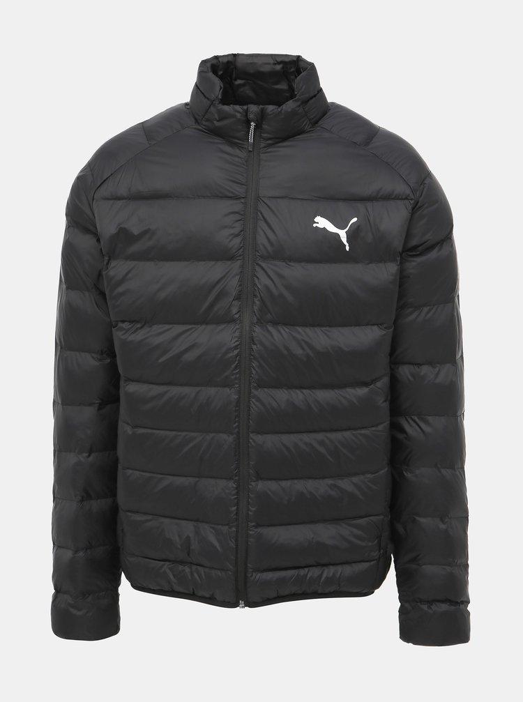 Čierna pánska zimná vodeodpudivá bunda Puma WarmCell
