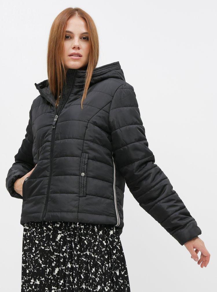 Černá prošívaná zimní bunda VERO MODA Simone