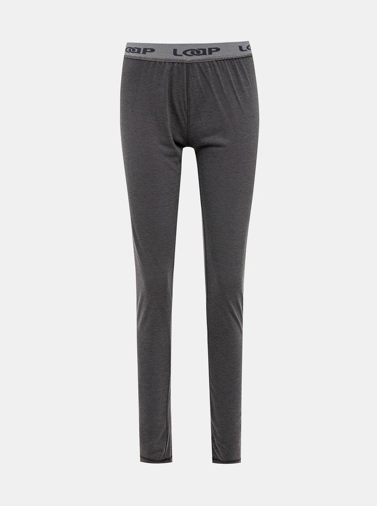Šedé dámské termo kalhoty LOAP Petula