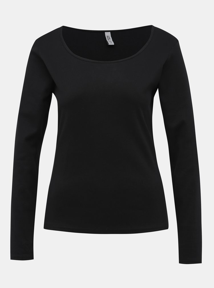 Černé dámské basic tričko Haily´s Donna