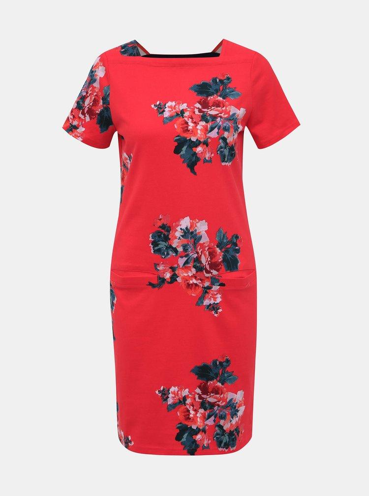 Červené kvetované šaty Tom Joule Francis