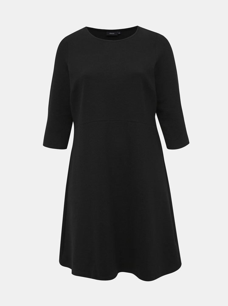 Čierne šaty Zizzi Jeane