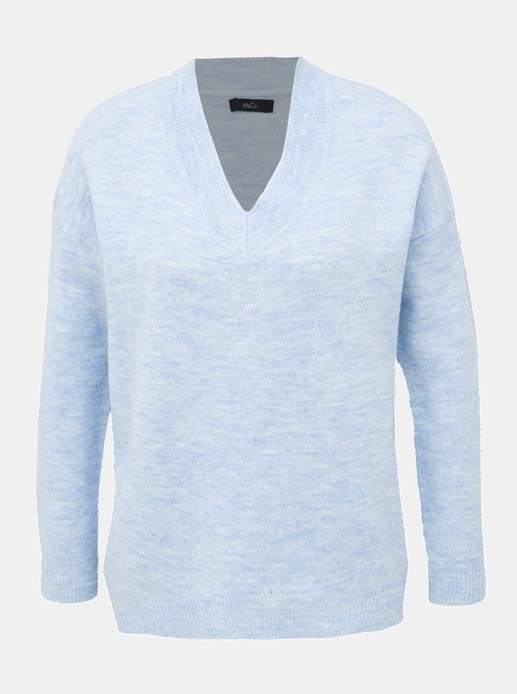 Světle modrý svetr M&Co