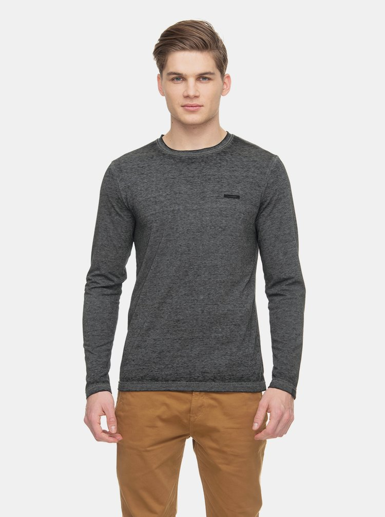 Tmavošedé pánske basic tričko Ragwear Vlag