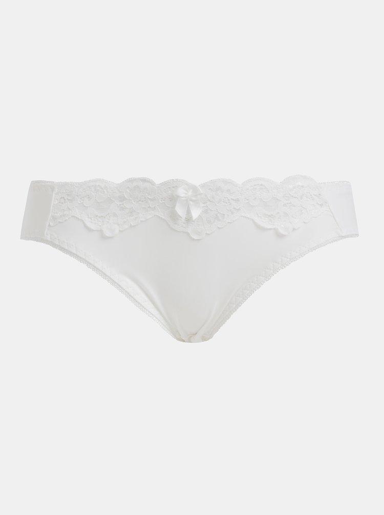 Biele nohavičky s krajkou Haily´s Mia