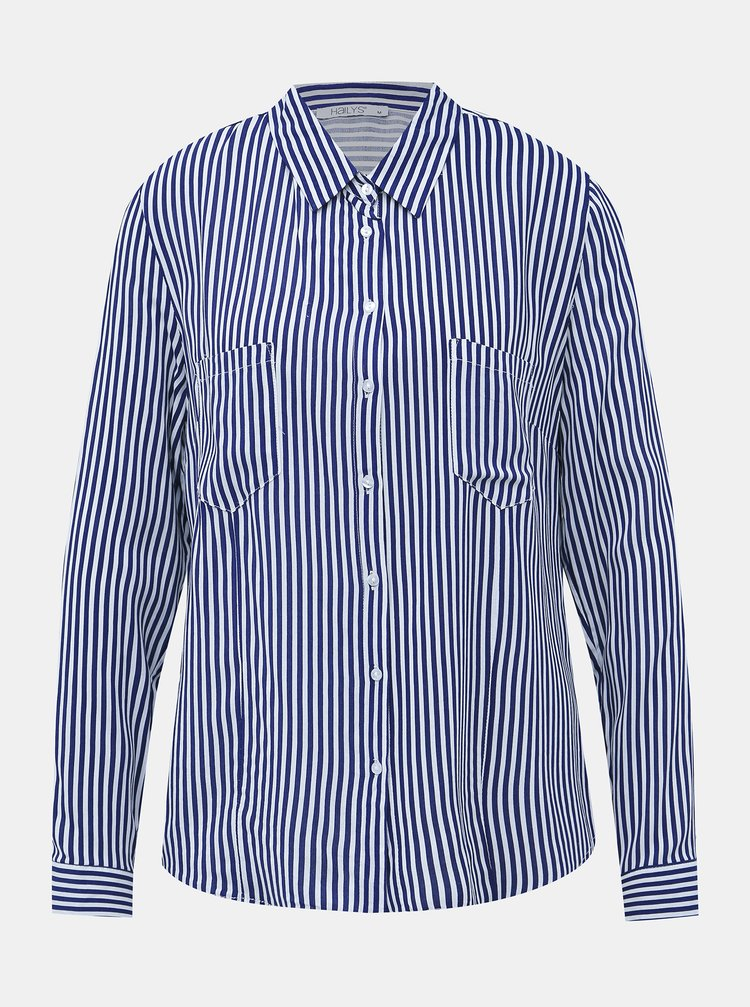 Modrá dámská pruhovaná košile Haily´s Adetta