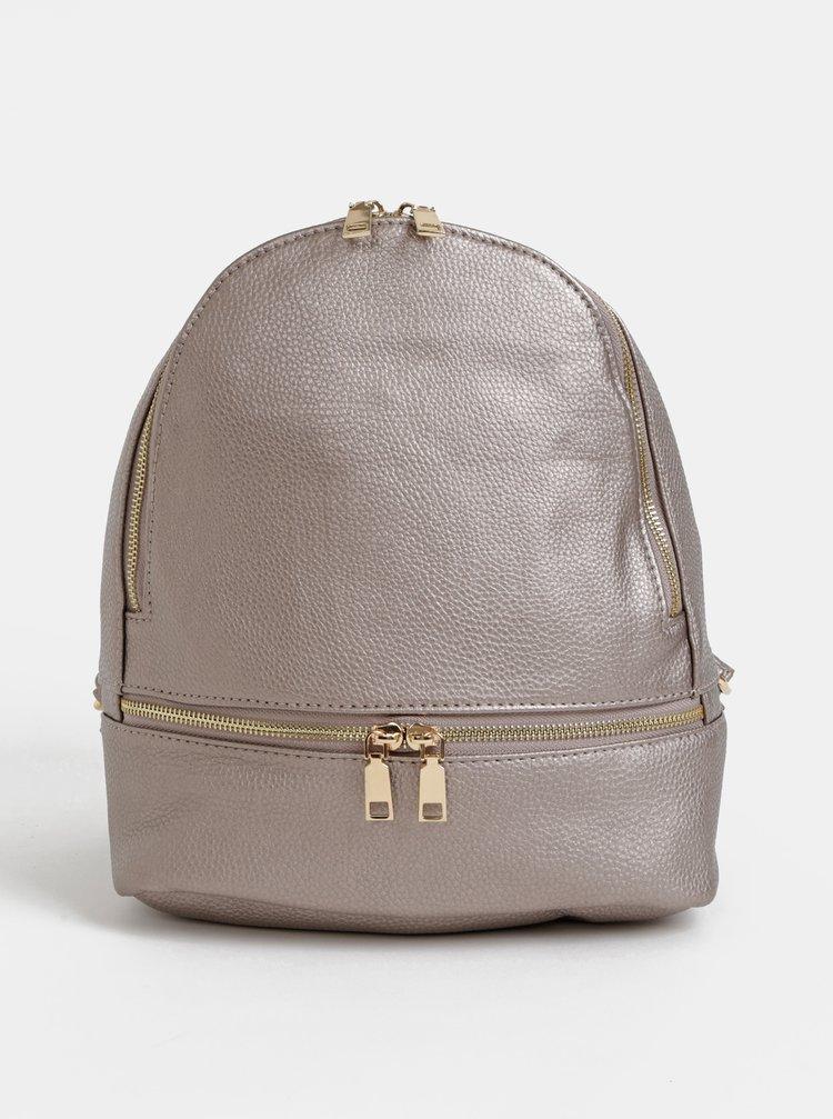 Béžový dámsky batoh s metalickými odleskami Haily´s Sammy