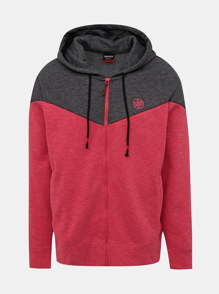 Jachete si tricouri pentru barbati SAM 73 - rosu, gri