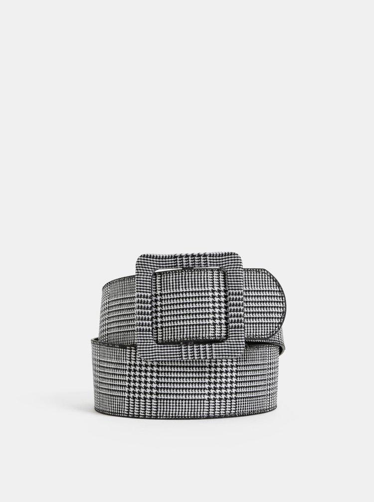 Šedý dámský vzorovaný pásek Haily´s Teresa